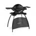 Weber Q 1200 STAND černý (štít a rošt)