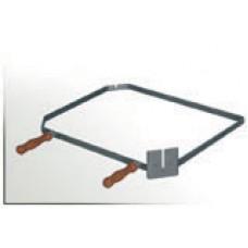 Nosič grilovací jehly úhlopříčný 65 cm