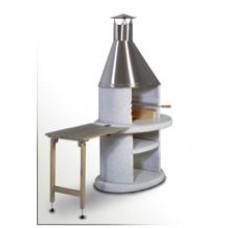 Stolek odkládací dřevěný ARCUS šedý