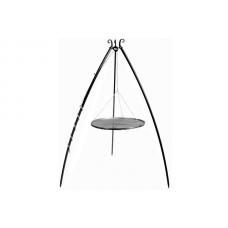 Trojnožka 200 s roštem 50cm černá ocel
